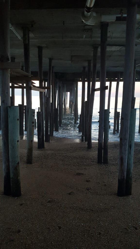 Beach Under Pier