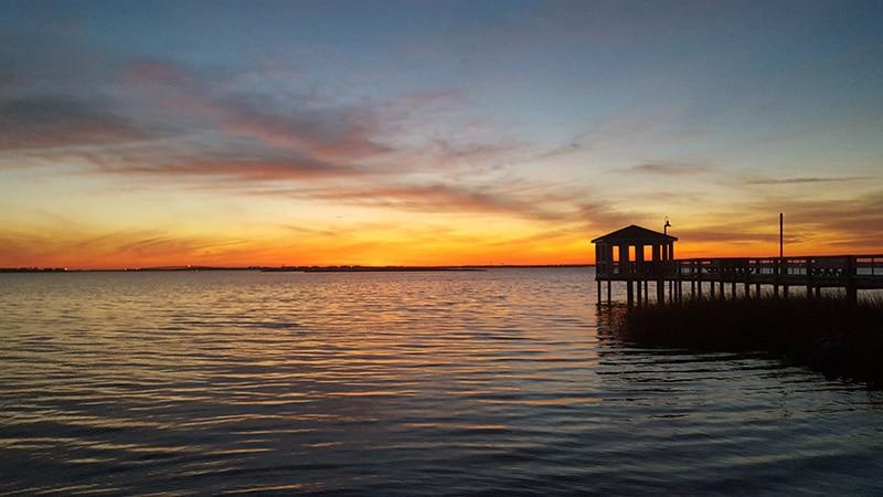 Ocean Pier Sunset