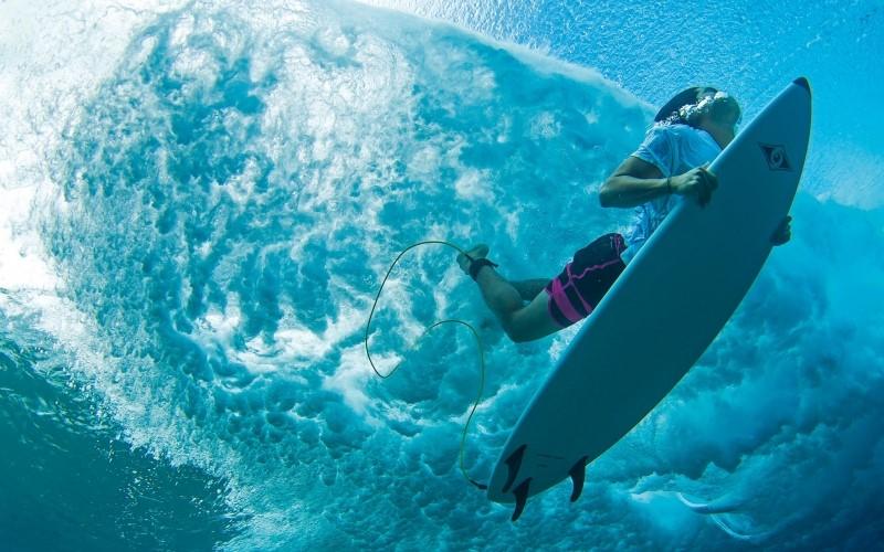 SUP Under Water